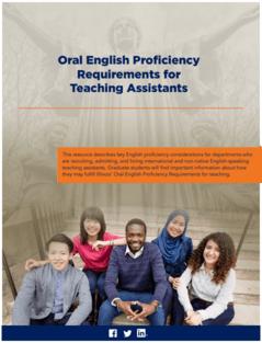 Oral English Assessment (EPI) TA's | University of Illinois | CITL